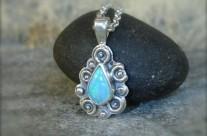 OPALe – srebrny wisiorek ze szlachetnym opalem