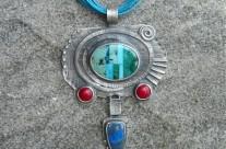 Cortez II – srebrny wisior